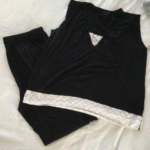 2 PC Pajama Set XL Tahari